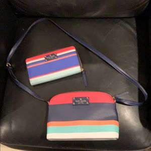 Authentic Kate Spade bag and wallet
